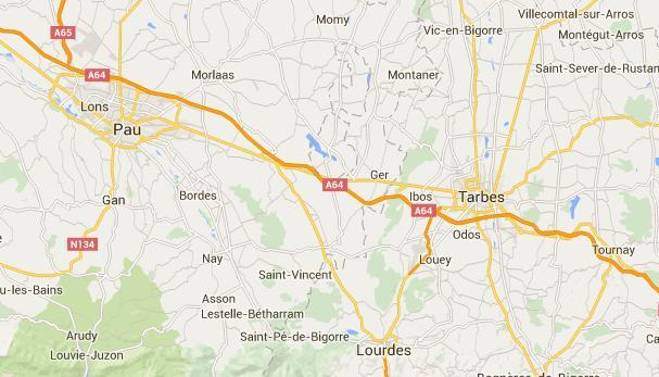 Accident sur l'autoroute entre Tarbes et Pau 3 blessés graves