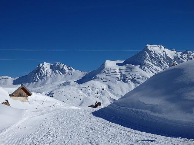 Abondantes chutes de neige sur les Pyrénées