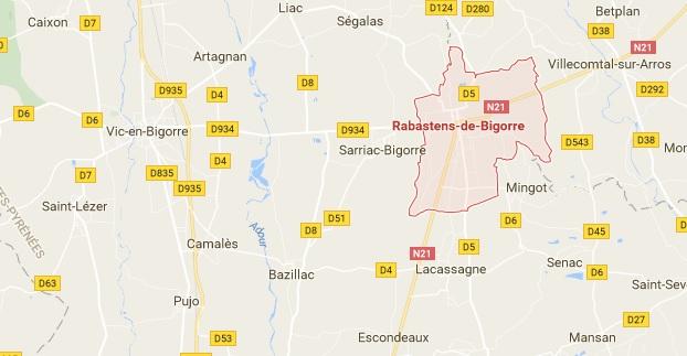 Un mort dans un accident de la route entre Vic et Rabastens de Bigorre