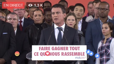 Carole Delga en charge des élus et des territoires dans la campagne de Manuel Valls