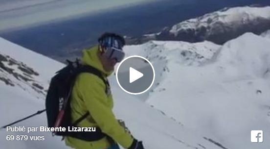 Bixente Lizarazu skie la face nord du Pic du Midi et fait le buzz