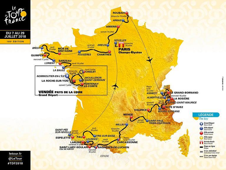 Saint Lary et l'étape Lourdes Laruns décisifs pour le Tour de France 2018