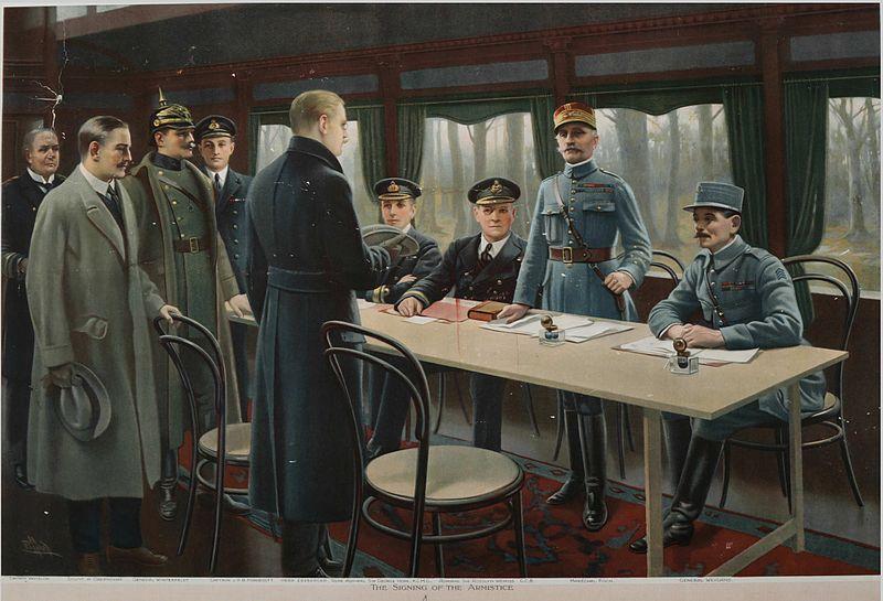 11 Novembre 1918, quand Foch signait l'armistice