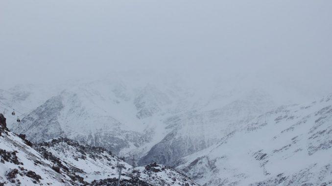 Chutes de Neige sur les Pyrénées