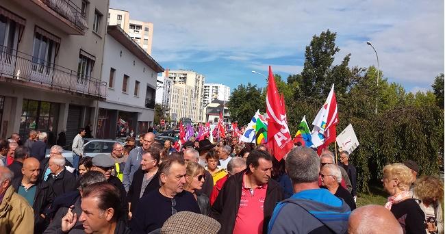 Grève et manifestation contre la politique de Macron ce jeudi à Tarbes