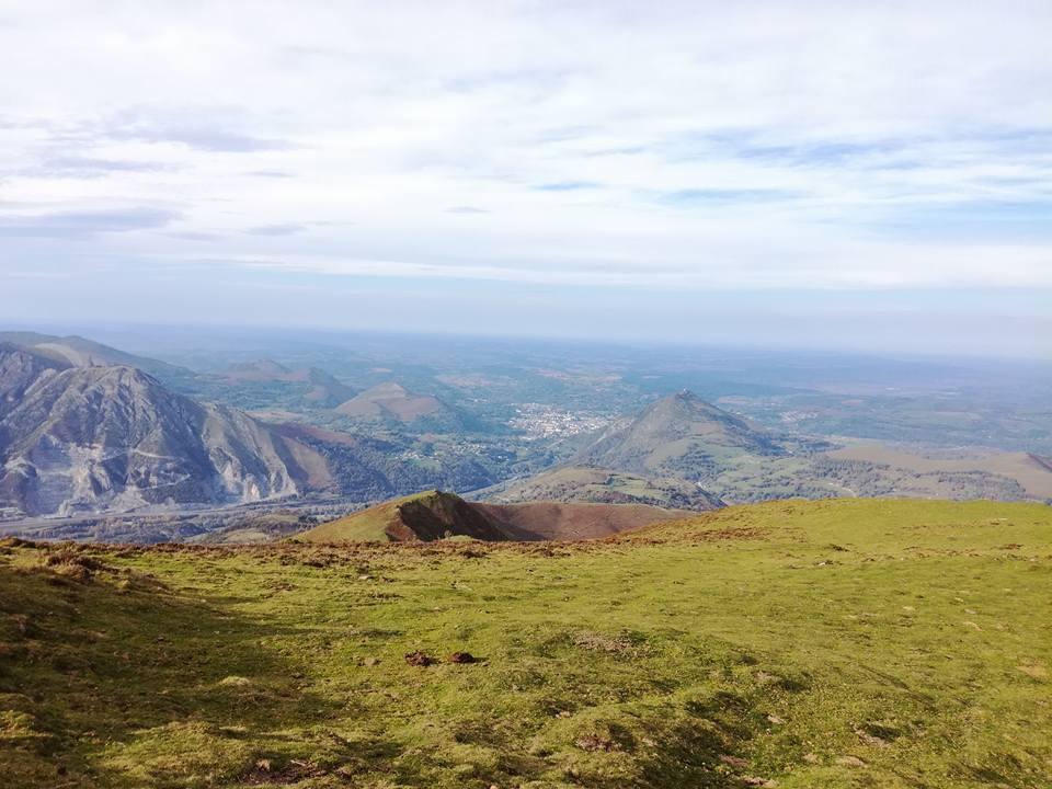 soum de Trézères depuis Ousté – Vues sur Tarbes, Lourdes, Argeles
