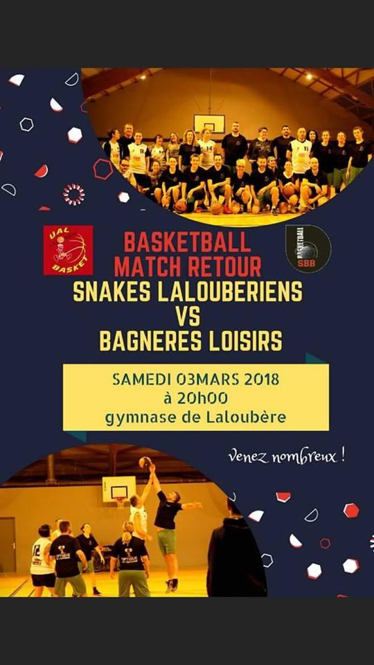 Basket, le clasico Laloubère-Bagnères le 3 mars