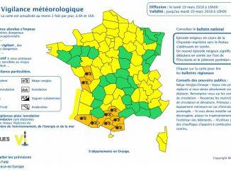 Neige et Verglas, Hautes Pyrénées alerte météo vigilance orange