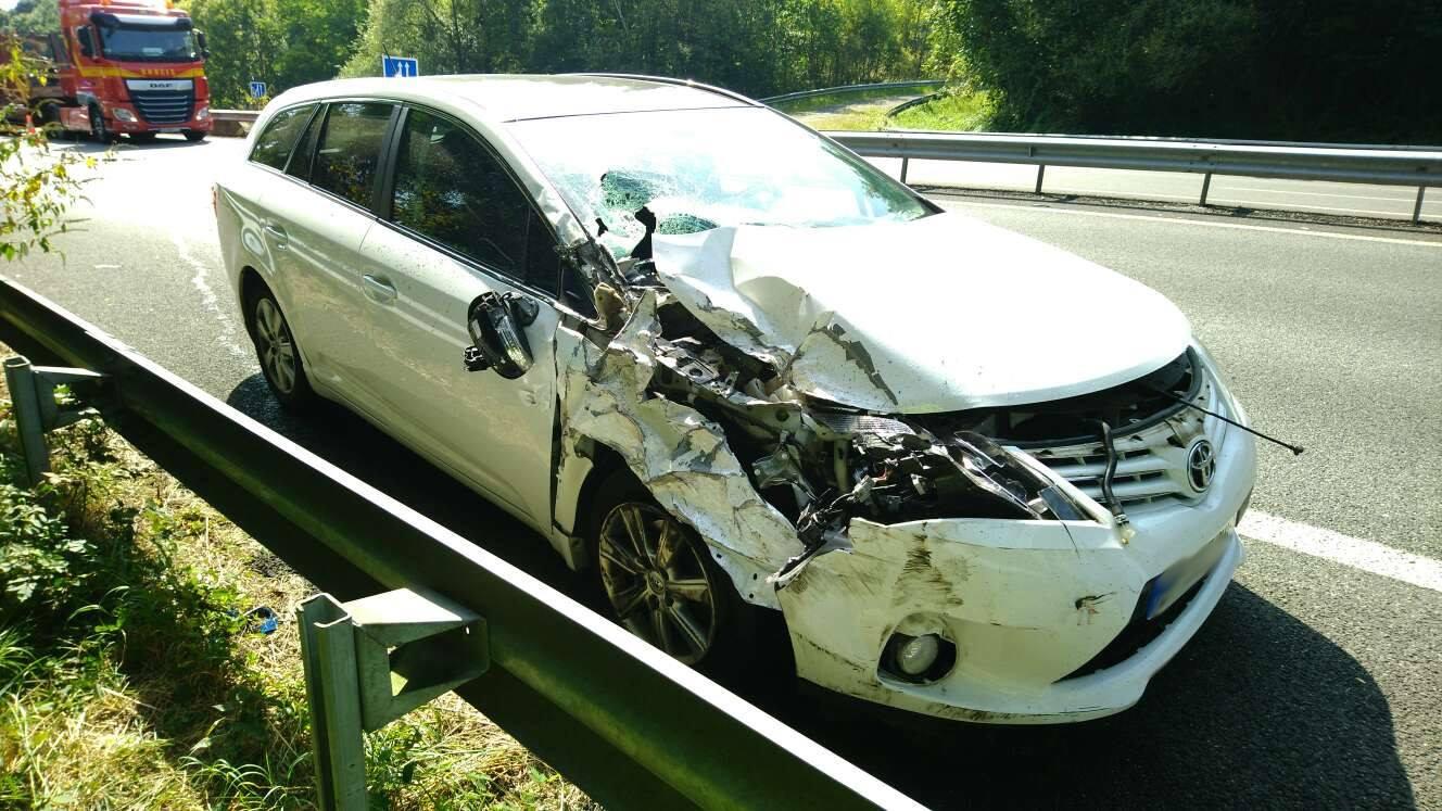Nouvel accident de la route causé par un téléphone portable au volant dans les Hautes Pyrénées