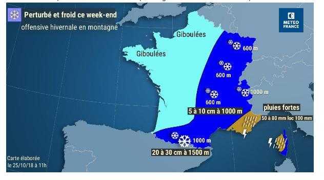 Froid, neige, ce qui vous attend à Tarbes ce week end pour l'offensive de l'hiver