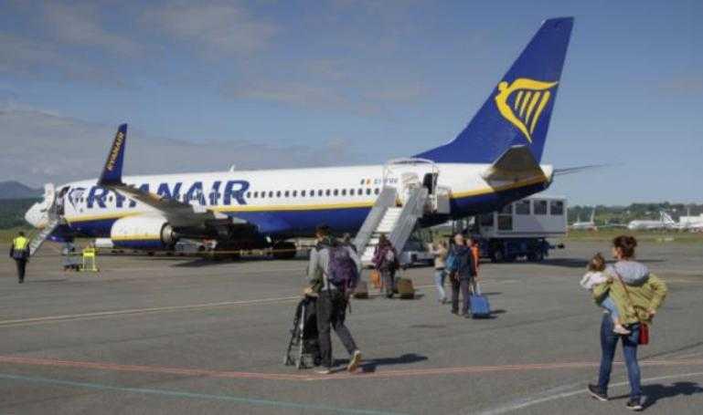 Une nouvelle ligne entre l'aéroport Tarbes Lourdes et Dublin via Ryanair
