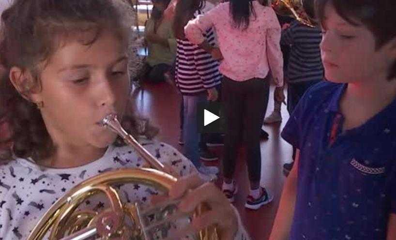 à Tarbes, l'Orchestre à l'école fait découvrir la musique aux enfants (1)